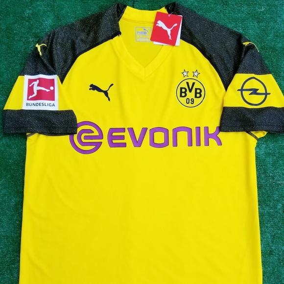 2018 19 Borussia Dortmund soccer jersey Pulisic 76af03fd2